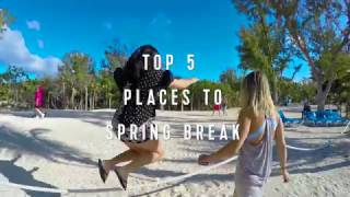 Royal Caribbean Top 5: Places to Spring Break