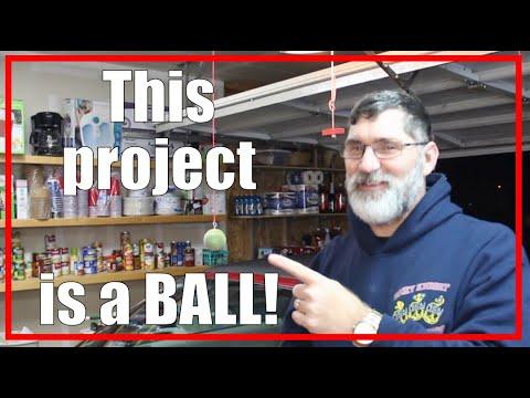 Don't CRASH into the Garage!   Retractable Tennis Ball Parking Aid   2021/009