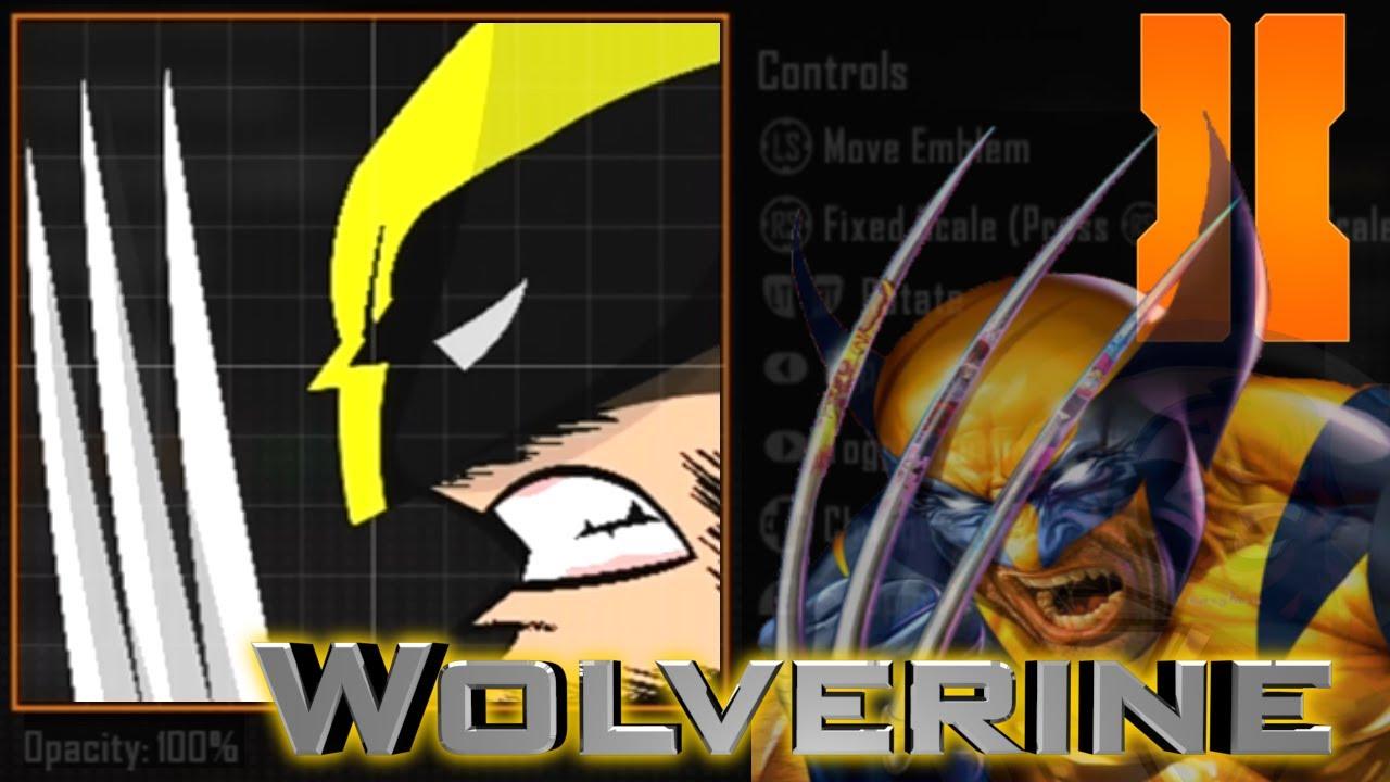 black ops 2 epic wolverine emblem tutorial desc ftw youtube