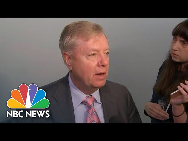 Graham On The Impeachment Inquiry: 'Nothing Happened Here' | NBC News