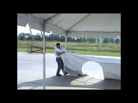 Installation of Ohenry Frame tent