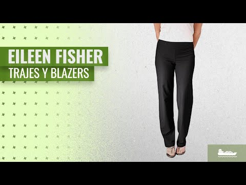 10 Mejores Eileen Fisher Trajes Y Blazers 2018: Eileen Fisher Washable Stretch Crepe Straight Leg