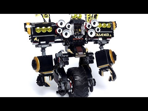 LEGO Ninjago 70632 Робот Коула Обзор