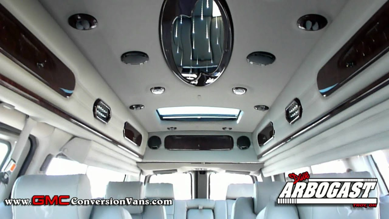 New 2012 GMC Explorer 9 Passenger Conversion Van