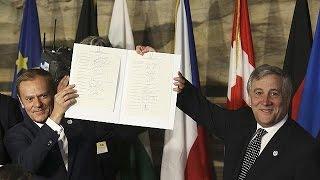 60 летие Римского договора  праздник единой Европы или поминки по мечте?