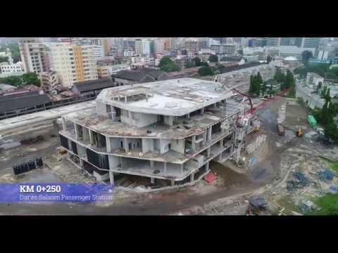 DSM January 2020 Progress Video; Standard Gauge Railway Line From Dar Es Salaam To Morogoro Project