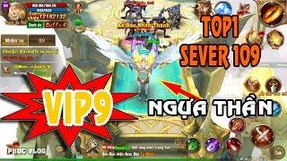 [VHKN] VIP9 SEVER 109 CƯỠI NGỰA THẦN TOP 1 SEVER | PHUC VLOG | BALDES AND RINGS