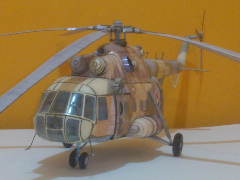 Papercraft Amazing paper model of Helicopter