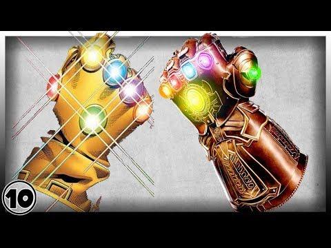 Top 10 Infinity Gauntlet Shocking Facts