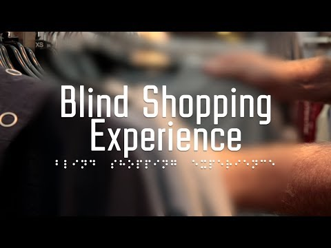 Introducing the Blind Shopping Experience