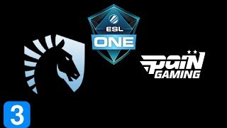 Liquid vs paiN Gaming Game 3 ESL One Birmingham 2018 Highlights Dota 2