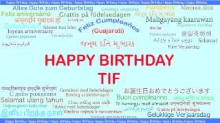 Tif   Languages Idiomas - Happy Birthday