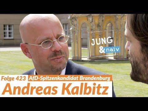 AfD-Spitzenkandidat Andreas Kalbitz - Jung & Naiv: Folge 423 | Wahl in Brandenburg