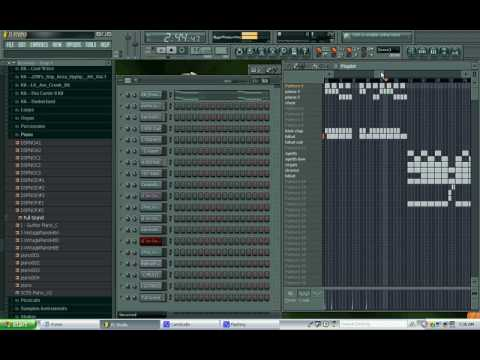 Justin Timberlake & Three 6 Mafia - Chop Me Up Remake in Fl Studio By BballAUS