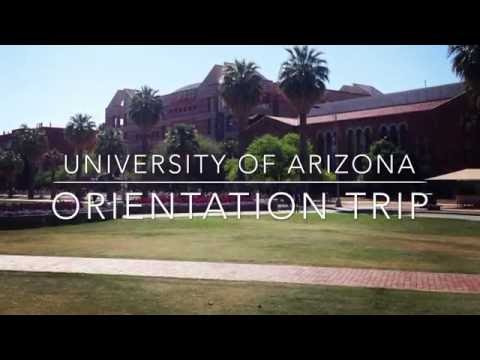 University of Arizona Orientation Trip