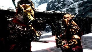 Skyrim Battles - Miraak & Lord Harkon vs Sotha Sil [International][Legendary Settings]