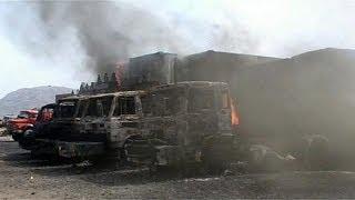 Талибы атаковали базу снабжения войск США в Афганистане