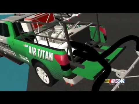 NASCAR Unveils Air Titan 2.0