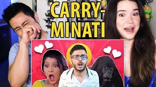 CARRYMINATI | Ladka Ladki Aur Woh | Reaction | Jaby Koay & Achara