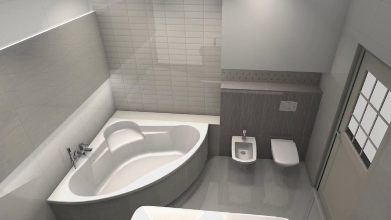 Nowoczesna łazienka Tubądzin Abisso