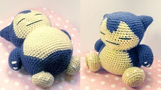 Snorlax Amigurumi Crochet Tutorial Part 1