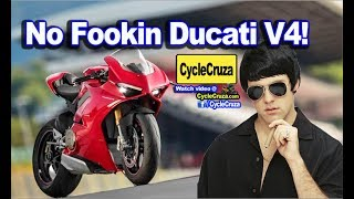 Why I Canceled My Purchase for a NEW Ducati Panigale V4