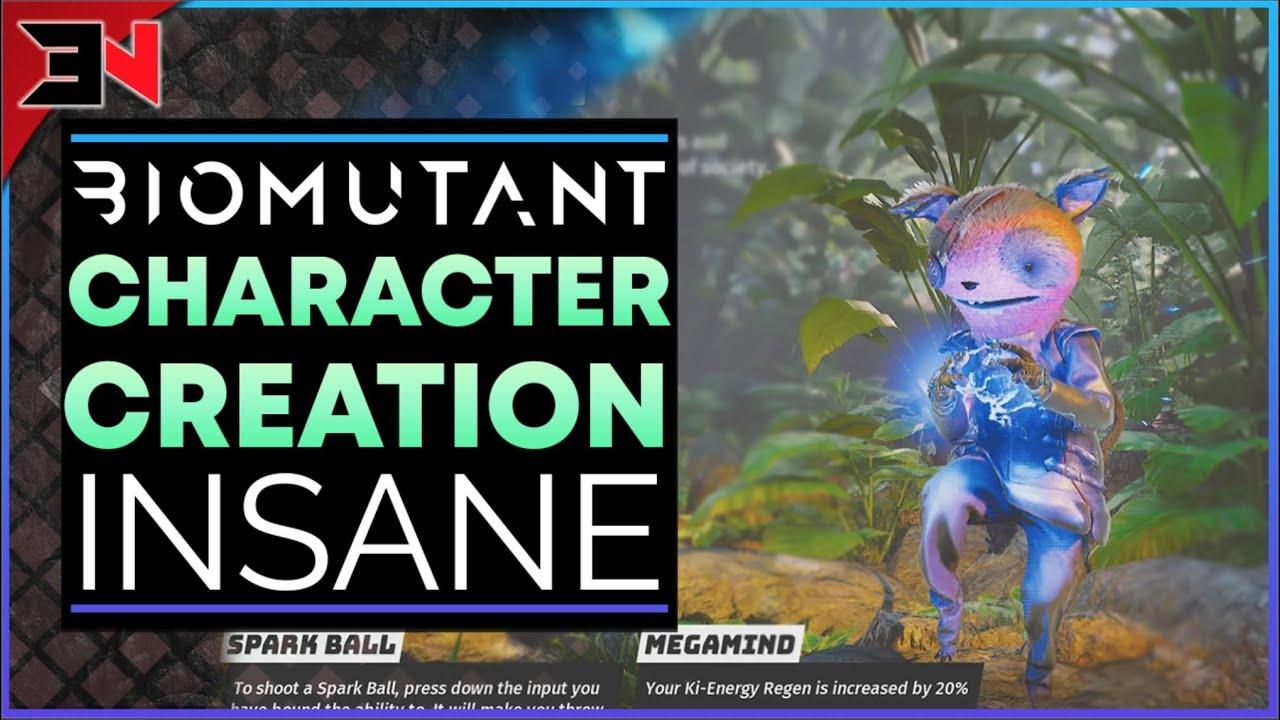 BIOMUTANT CHARACTER CREATION IS INSANE   Biomutant Character Customization