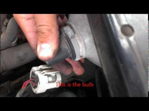 changing headlights (Mazda protege) - YouTube