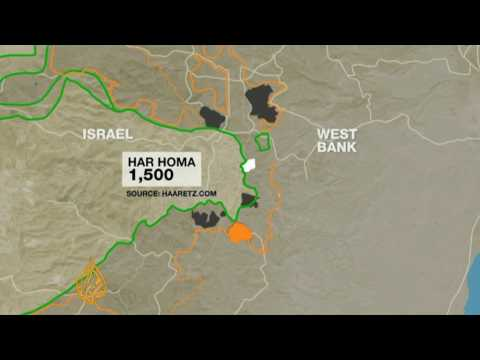 Map of Israel\'s East Jerusalem housing plan - YouTube