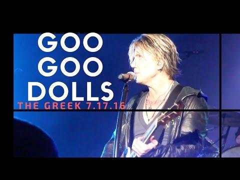 Goo Goo Dolls - The Greek - Los Angeles, CA - July 17 2016