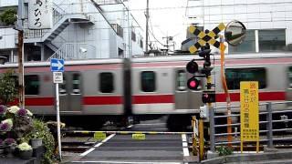 東急東横線 踏切撮影(1)