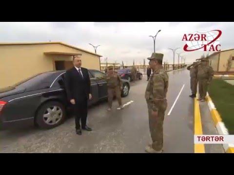Prezident İlham Əliyev Tərtər, Ağdam və Bərdə rayonlarında olub