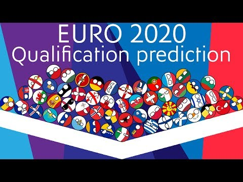 UEFA Euro 2020 qualifying predictions Marble Race | 55 Countries
