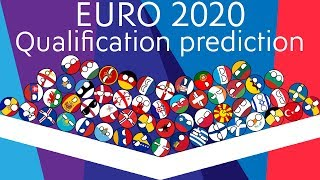 UEFA Euro 2020 qualifying predictions Marble Race   55 Countries