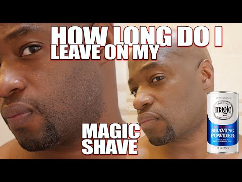 How Long I Leave My Magic Shave Shaving Powder On Youtube