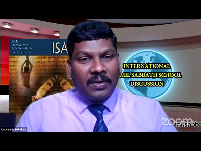 21Feb 2021–Qtr.1:ISAIAH-LS-8:Tamil Sabbath School– தாசனாகிய தேசம்-by Pr. Ravichandran (Thanjavur)