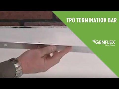 Tpo Termination Bar Youtube