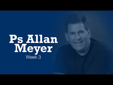 Weekly Message - The Problem And Power of Forgiveness - Ps Allan Meyer