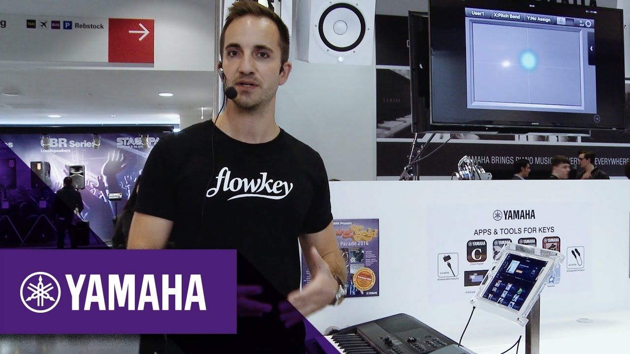 Learn more about Flowkey with Keyboards | Keyboards | Yamaha Music
