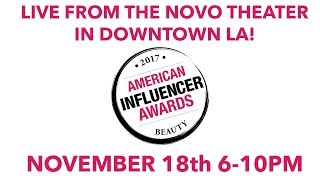 American Influencer Awards 2017 thumbnail