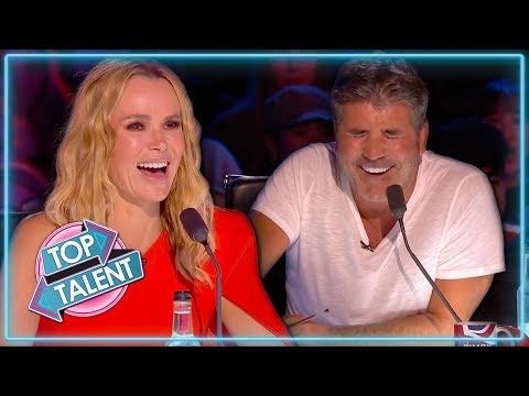 Top 5 Comedians on Britain's Got Talent 2019 | Top Talent