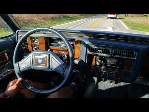 1987 Cadillac Brougham D'Elegance Start Up And Drive - Sold