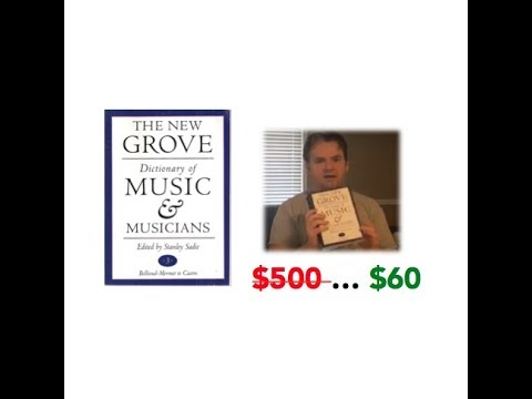 Grove Dictionary Of Music & Musicians FOR CHEAP
