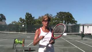 Hit a Slice Serve the Easy Way