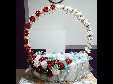 55. Flower making - Ganpati decoration part -1 thumbnail