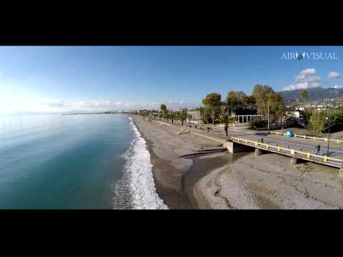 "4k aerial film ""Αerial view of Kalamata"""