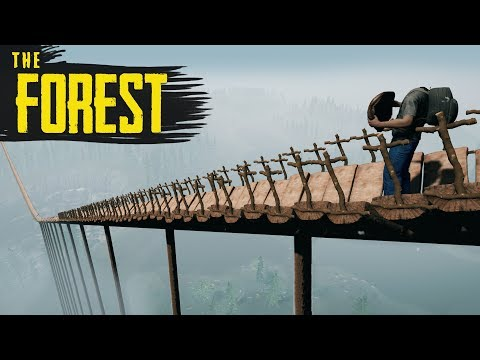 COASTER ACROSS THE MAP! The Forest New Update