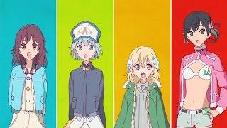 The Rolling Girls anime by Wit Studio Hito ni Yasashiku (人にやさし...