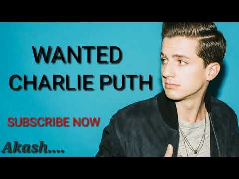 Wanted cover Carlie Puth (lyric)