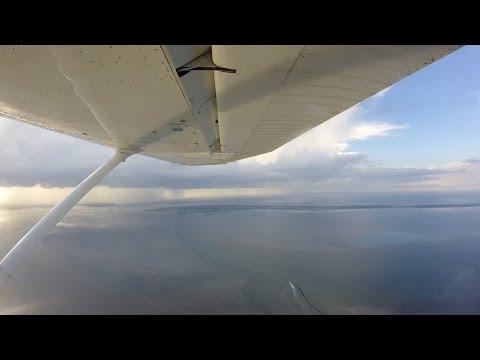 Mit der Cessna an die Nordsee - Inselhopping Non-Stop (C172)
